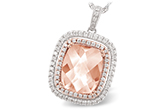 C215-86315: NECK 4.20 MORGANITE 4.66 TGW