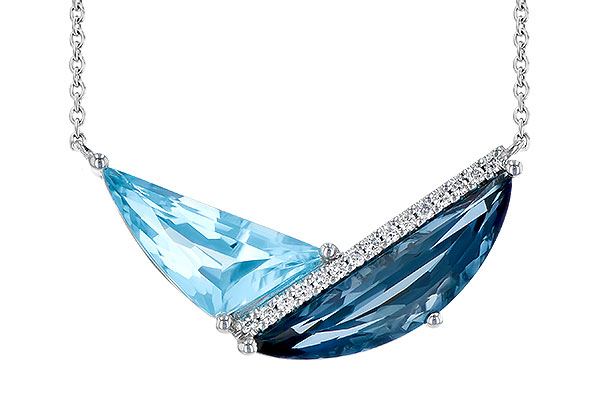 C300-39969: NECK 4.66 BLUE TOPAZ 4.75 TGW