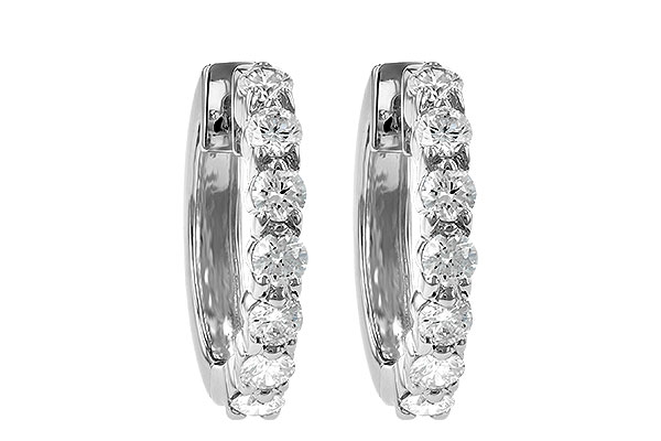 E213-12660: EARRINGS 1.00 CT TW